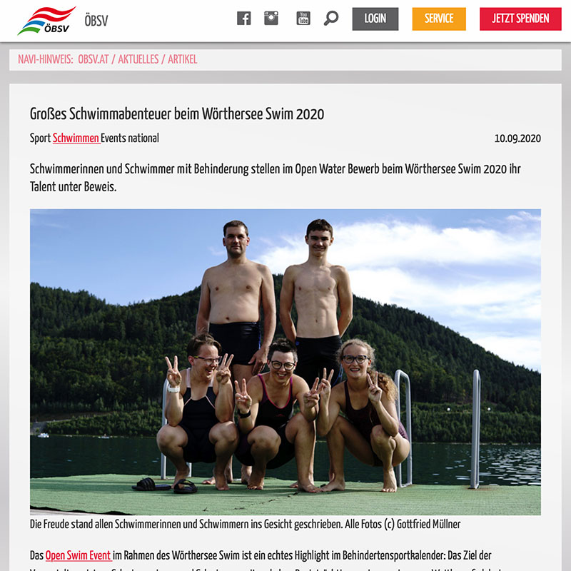 open-water-swim-klagenfurt-medienberichte-bsv-pongau-2020-obsv-artikel